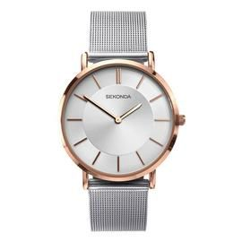 Sekonda Edition Ladies Silver Mesh Bracelet Watch Best Price, Cheapest Prices