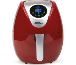 POWER AIRFRYER XL Health Fryer - 5 Litres, Red Best Price, Cheapest Prices