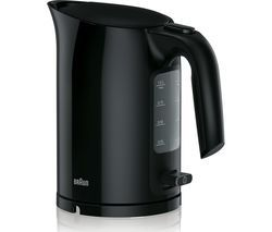 BRAUN Series 3 PurEase WK3110.BK Jug Kettle - Black Best Price, Cheapest Prices