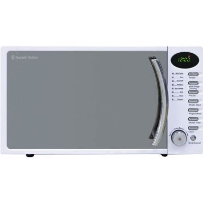 Russell Hobbs RHM1714WC 17 Litre Microwave - White Best Price, Cheapest Prices