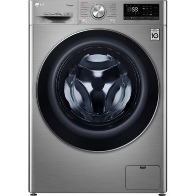 LG Vivace F4V710STS Wifi Connected 10Kg Washing Machine with 1400 rpm - Graphite - A+++ Rated Best Price, Cheapest Prices