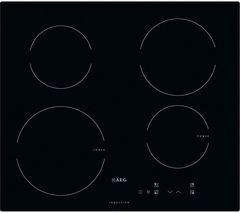 AEG HK604200IB Electric Induction Hob - Black Best Price, Cheapest Prices