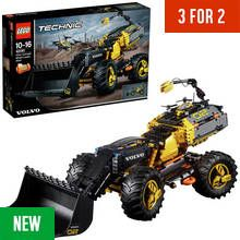LEGO Technic Volvo Concept Wheel Loader Toy - 42081 Best Price, Cheapest Prices