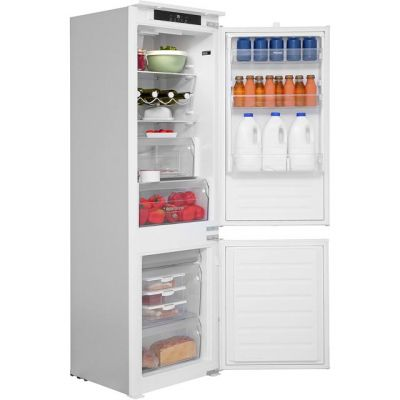 Hotpoint HM7030ECAA Integrated 70/30 Fridge Freezer with Sliding Door Fixing Kit - White - A+ Rated Best Price, Cheapest Prices