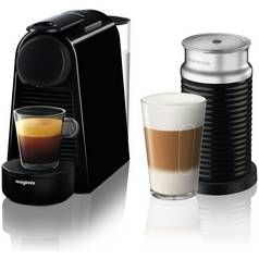 Magimix Nespresso Essenza Pod Coffee Machine Bundle - Black Best Price, Cheapest Prices