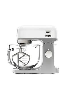 Kenwood KMix Stand Mixer - White Best Price, Cheapest Prices