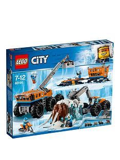 LEGO City 60195 Arctic Mobile Exploration Base Best Price, Cheapest Prices