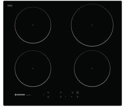 HOOVER HPI604BC Electric Induction Hob - Black Best Price, Cheapest Prices