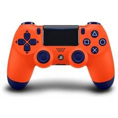 PS4 DualShock 4 Wireless Controller - Sunset Orange Best Price, Cheapest Prices