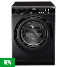 Hotpoint WMXTF742K 7KG Washing Machine - Black Best Price, Cheapest Prices