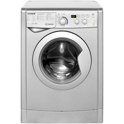 Indesit My Time EWD81482S 8Kg Washing Machine with 1400 rpm - Silver - A++ Rated Best Price, Cheapest Prices