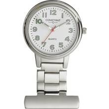 Constant Nurses' Silver Fob Pin Fastening Watch Best Price, Cheapest Prices