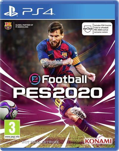 PES 2020 PS4 Game Best Price, Cheapest Prices