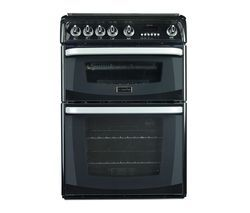 CANNON Carrick CH60GCIK Gas Cooker - Black Best Price, Cheapest Prices