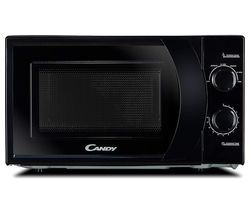 CANDY CMW 2070B-UK Compact Solo Microwave - Black Best Price, Cheapest Prices