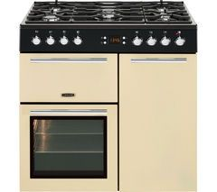LEISURE A La Carte 90 AL90F230C Dual Fuel Range Cooker - Cream Best Price, Cheapest Prices