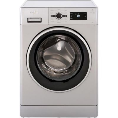 Whirlpool FWG81496S 8Kg Washing Machine with 1400 rpm - Silver - A+++ Rated Best Price, Cheapest Prices