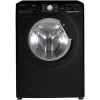 Hoover DHL1482DBB Link 8kg 1400rpm Freestanding Washing Machine With One Touch - Black With Black Li Best Price, Cheapest Prices