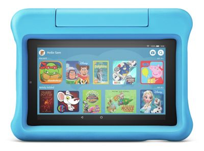 Amazon Fire 7 Kids Edition 7 Inch 16GB Tablet - Blue Best Price, Cheapest Prices