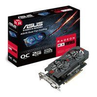 ASUS Radeon RX 560 OC 2GB GDDR5 PCIe 3.0 Graphics Card, 14nm Polaris, 1024 Streams, 1210MHz GPU, DP/HDMI 2.0/DVI-D DL Best Price, Cheapest Prices