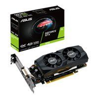 ASUS GeForce GTX 1650 Low Profile OC 4GB GDDR5 VR Ready Graphics Card, 896 Core, 1485MHz GPU, 1710MHz Boost Best Price, Cheapest Prices