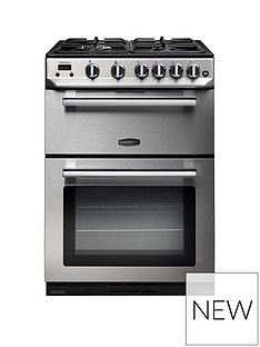 Rangemaster  PROP60NGFSS Professional 60cm Wide Gas Cooker - Stainless Steel Best Price, Cheapest Prices