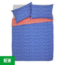 Argos Home Squiggle Bedding Set - Double Best Price, Cheapest Prices