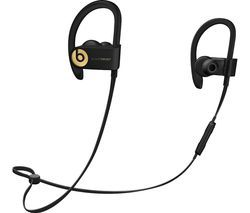 BEATS Powerbeats3 Wireless Bluetooth Headphones - Trophy Gold Best Price, Cheapest Prices