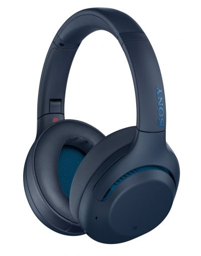 Sony WH-XB900N Over-Ear Wireless Headphones- Blue Best Price, Cheapest Prices
