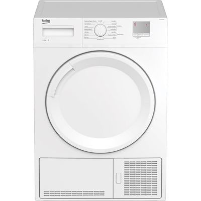 Beko DTGC10000W 10Kg Condenser Tumble Dryer - White - B Rated Best Price, Cheapest Prices