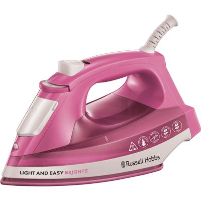 Russell Hobbs Light & Easy Brights 25760 2400 Watt Iron -Pink Best Price, Cheapest Prices