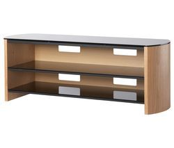 ALPHASON Finewoods FW1350 1350 mm TV Stand - Light Oak Best Price, Cheapest Prices
