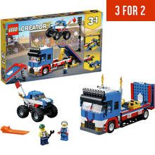 LEGO Creator Mobile Stunt Show - 31085 Best Price, Cheapest Prices