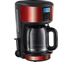 RUSSELL HOBBS Legacy 20682 Fast Brew Filter Coffee Machine - Red Best Price, Cheapest Prices