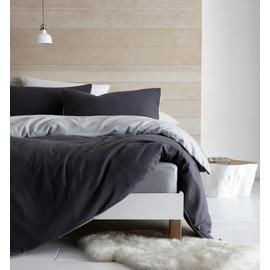 Catherine Lansfield Grey So Soft Fleece Bedding Set - Double Best Price, Cheapest Prices
