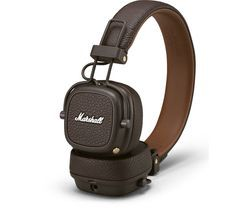 MARSHALL Major III Wireless Bluetooth Headphones - Brown Best Price, Cheapest Prices