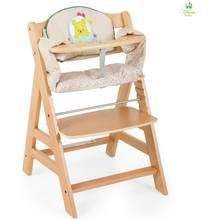 Hauck Alpha+ Wooden Highchair - Natural Best Price, Cheapest Prices