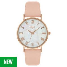 Spirit Rose Gold Pink Strap Watch Best Price, Cheapest Prices