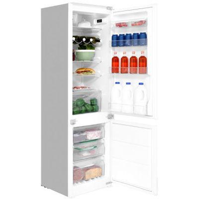 Hotpoint Day 1 HMCB7030AADF Integrated 70/30 Frost Free Fridge Freezer with Sliding Door Fixing Kit - White - A+ Rated Best Price, Cheapest Prices