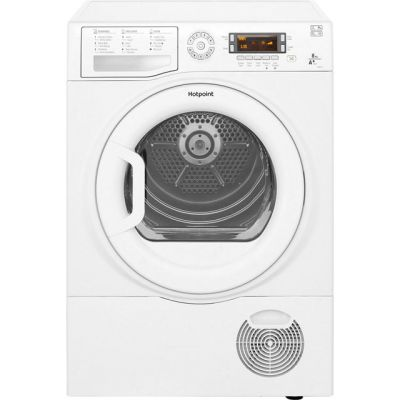 Hotpoint FTCD871GPY 8Kg Heat Pump Tumble Dryer - White - A+ Rated Best Price, Cheapest Prices
