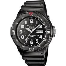 Casio Men's Rotating Count Up Bezel Black Resin Strap Watch Best Price, Cheapest Prices