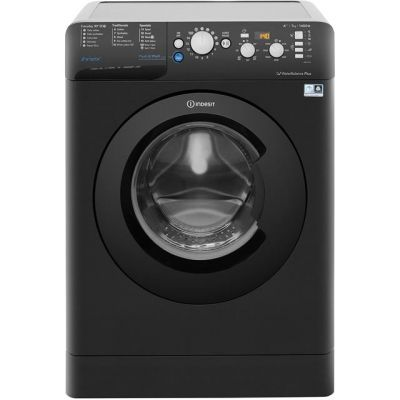 Indesit Innex BWD71453KUK 7Kg Washing Machine with 1400 rpm - Black - A+++ Rated Best Price, Cheapest Prices
