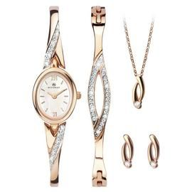 Accurist Ladies 4 Piece Gift Set Best Price, Cheapest Prices