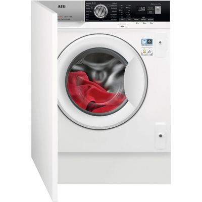 AEG ProSteam Technology L7FE7461BI Integrated 7Kg Washing Machine with 1400 rpm - A+++ Rated Best Price, Cheapest Prices