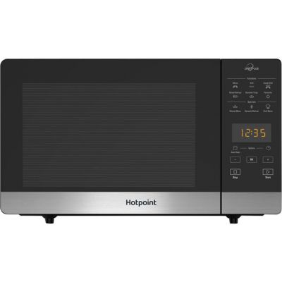 Hotpoint CHEFPLUS MWH27321B 25 Litre Microwave With Grill - Black Best Price, Cheapest Prices