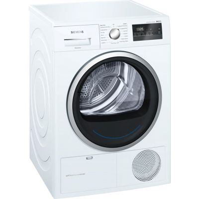 Siemens IQ-300 WT45M231GB 8Kg Heat Pump Tumble Dryer - White - A++ Rated Best Price, Cheapest Prices
