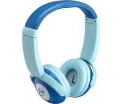 GOJI GKIDBTB18 Wireless Bluetooth Kids Headphones - Blue Best Price, Cheapest Prices