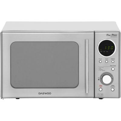 Daewoo KOR3000DSLR 20 Litre Microwave - Stainless Steel Best Price, Cheapest Prices