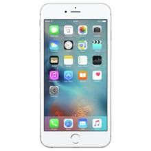 SIM Free iPhone 6s Plus 128GB Mobile Phone- Silver Best Price, Cheapest Prices