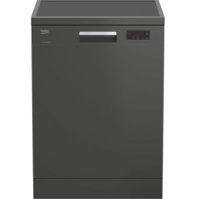 Beko DFN16420G Standard Dishwasher - Graphite - A++ Rated